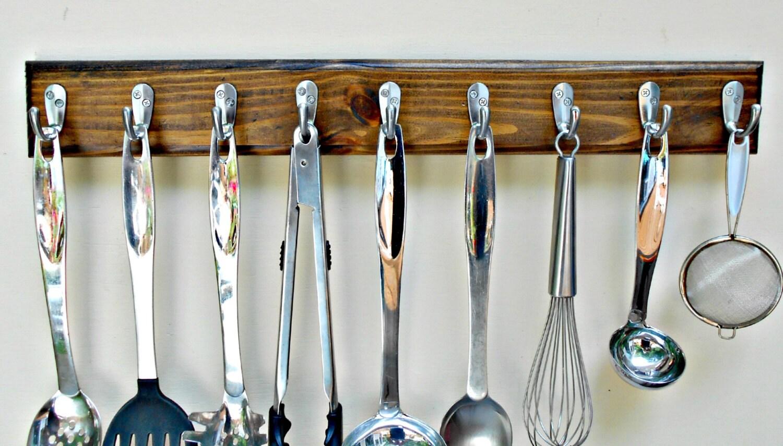 Wall Rack Kitchen Rack Utensil Holdertie Racktie