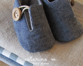 baby SHOE SEWING PATTERN * Model n.2 (+ two variants) * Catarina M. (English - Centimeter+Inches) pdf