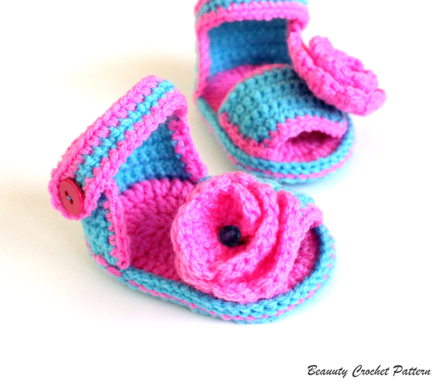 Crochet pattern baby girl sandals baby sandals crochet zoom bankloansurffo Image collections