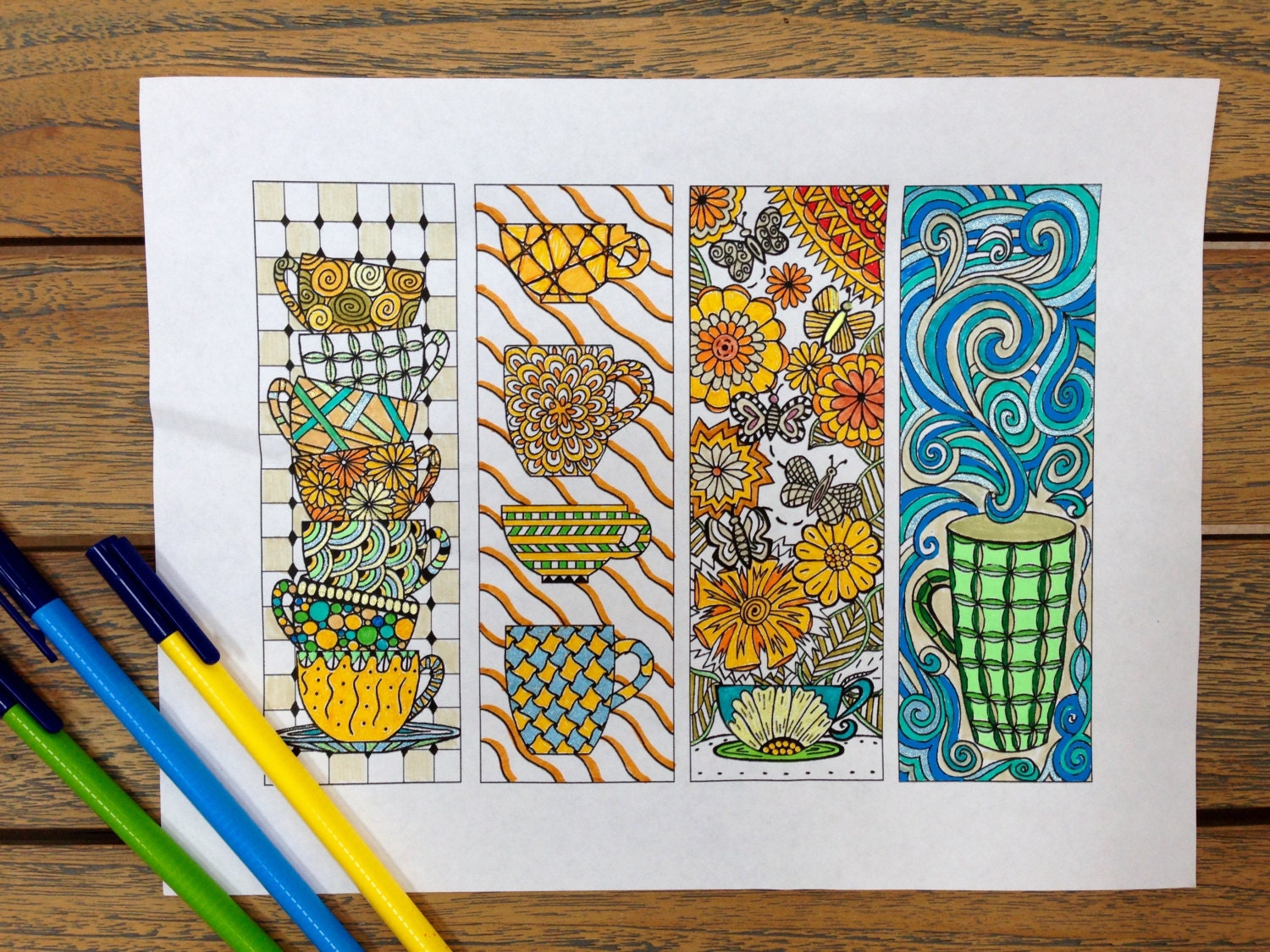 Printable coloring pages kitchen -  Zoom