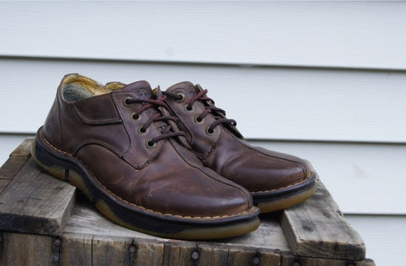 vintage doc marten brown leather shoes s by