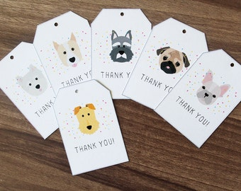 Thank you gift tags | Etsy