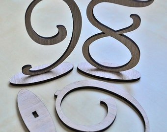Table Numbers Set 1-10, Wedding  Wooden Table Numbers, Rustic Wedding, Wood Table numbers, Wedding, Rustic table numbers