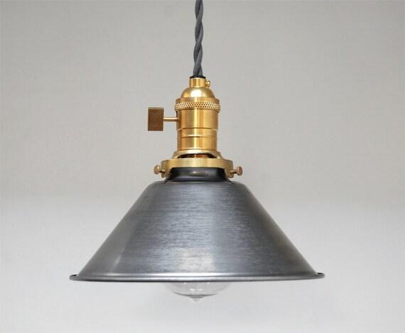 Industrial Pendant Light Brass Pendant Light By PhotonicStudio