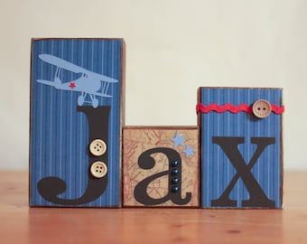 Vintage navy airplane nursery airplane baby by Vintage airplane decor for nursery