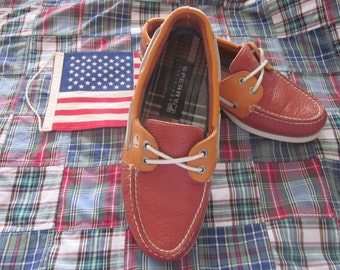 Sperry Top-Sider Leather Loafers Madras Lining