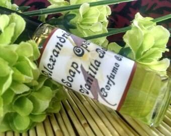 VANILLA BEAN PERFUME Oil / Phthalate free / Vanilla Bean fragrance oil / Creamy Vanilla / Aromatherapy / Homemade oil
