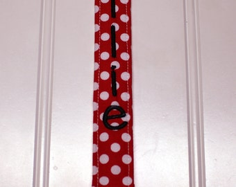 Gender Neutral Pacifier Clip - Soothie Pacifier Clip with plastic clip - Mam Gumdrop Nuk Avent Soothie Binky Clip Red, Yellow, Black Clip