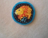 Astrology: Proud Leo (Patch, Pin, Brooch, or Magnet)
