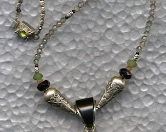 Reef Scene, Sea Turtle, Reef Necklace, Sea Turtle Jewelry, Coral Reef Scene, Turtle Necklace, Turtle Jewelry, Sea Turtle Necklace