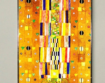 Gustav Klimt - Pattern for the Stoclet Frieze, Stained glass, Vacation until 18. September