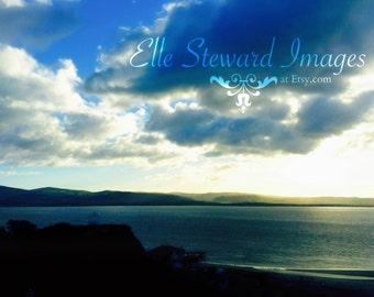 Silver Sea Twilight { Digital Download } Fine Art Photography