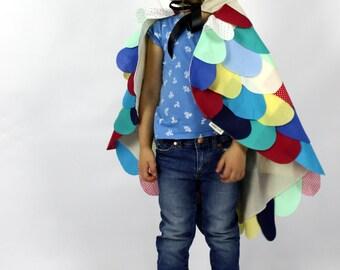 The Owl - Rainbow - Handmade Children's Costume