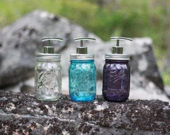 Vintage Mason Jar Soap Dispenser