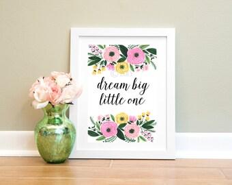 Floral Wall Print