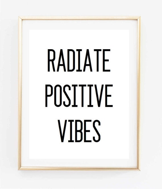 how to keep positive vibes