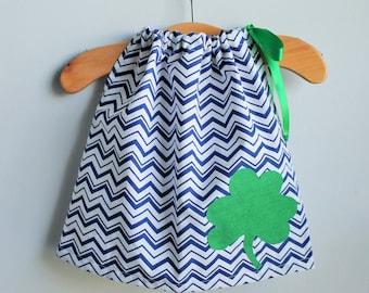 Notre Dame Pillow Case Dress - Notre Dame Girl's Dress - Notre Dame Children's Clothing - Notre Dame Dress
