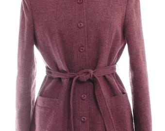 Vintage Bespoke Purple Tweed Jacket 12 - www.brickvintage.com