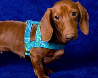 Easy-On Dog Harness in Fashion Fabrics - 9 Sizes