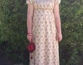 Bib Front Regency Day Dress Ladies-Custom Order