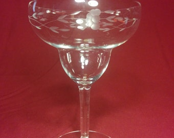 Princess House Heritage Margarita Glass - Single