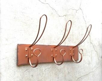 Attractive Copper Coat Rack, Coat Hooks, Wall Hook Rack, Wall Hooks, Copper Wall