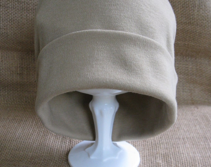 I love this hat! Soft and Comfy Camel Chemo Cap