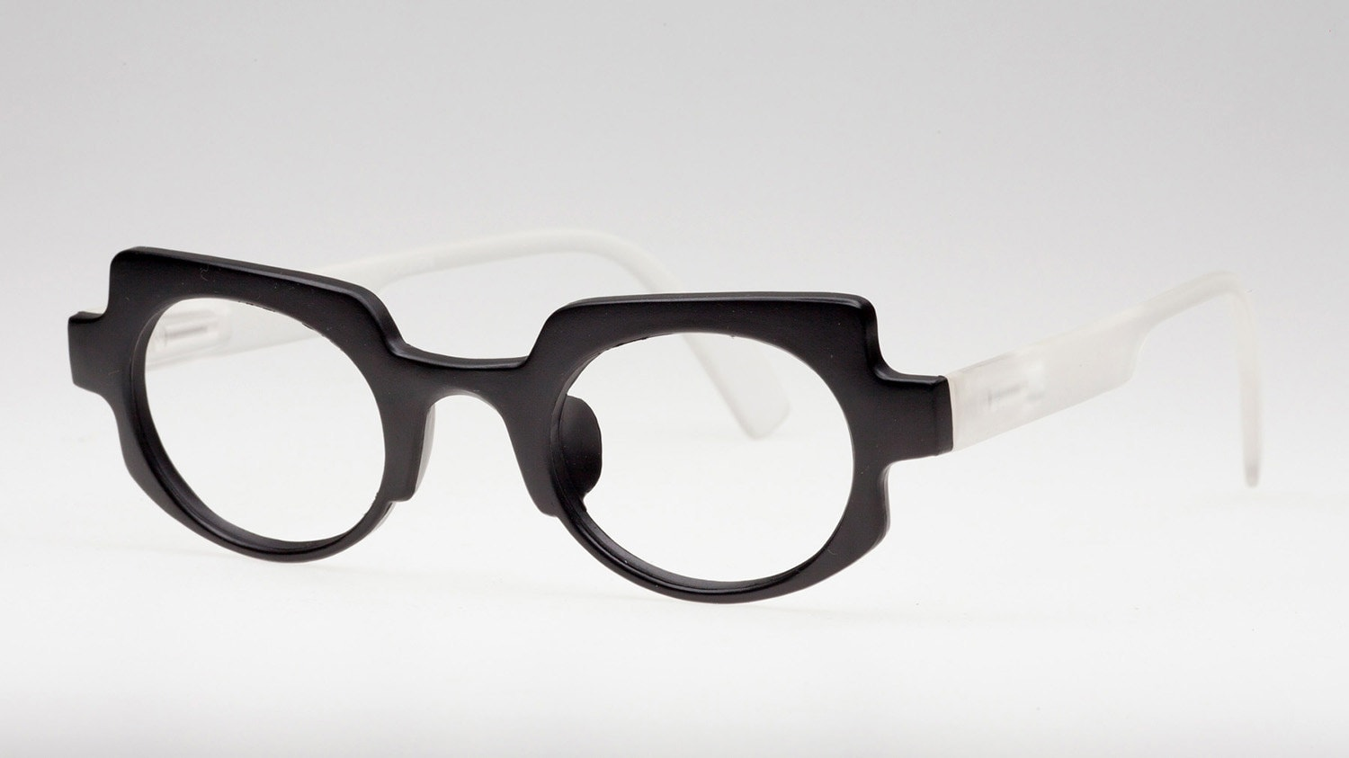 custom reading glasses optical eyeglasses matte black frame