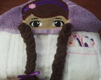 Doc McStuffins Hooded Towel