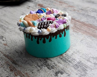 Cute Decoden Box /Jewelry Box/ Cake box/ Korean /japanese