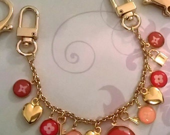 LUXURY Inspired Bag Charm to be customised
