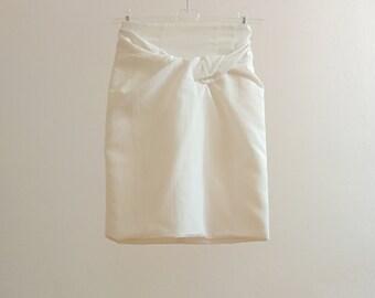 Comme des Garçons draped skirt - long skirt