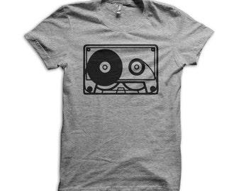 Cassette Tape American Apparel T-Shirt - K108