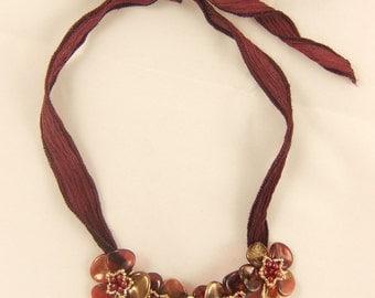 Petals Flower Necklace