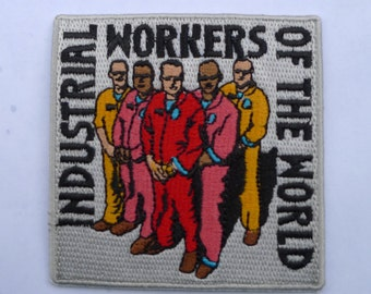union patch, industrial workers of the world , iww