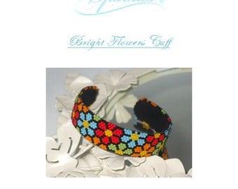 Bright Flowers Cuff Tutorial
