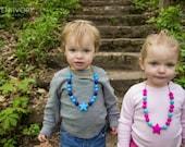 Kids Silicone Star Sensory Necklace