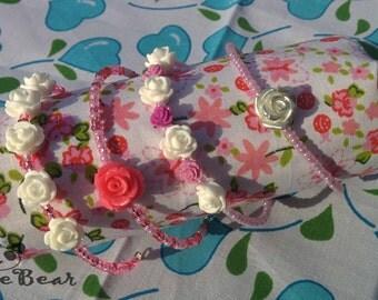 BJD - Resin Rose Headbands - Pinks