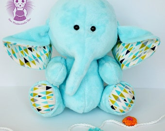 Soft toy elephant/softie/pluh toy/newborn soft toy