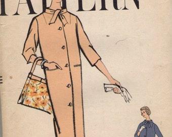 Vintage 1950s Vogue Sewing Pattern 9449- Misses' Coat size 14 bust 34