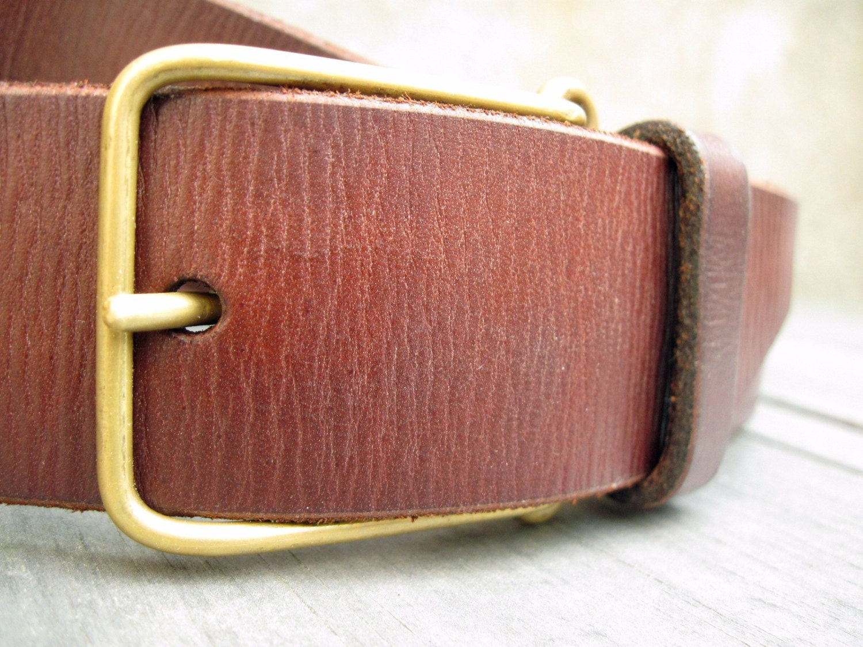 1 5 leather belt wide brown mens belt womens belt by