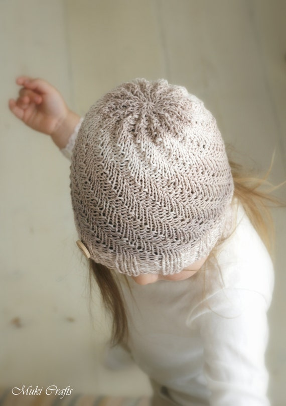 Knitting Pattern For Scarf And Beanie : KNITTING PATTERN beanie hat Ashton and scarf child teen