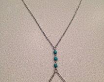 Turquoise Bead Body Jewelry