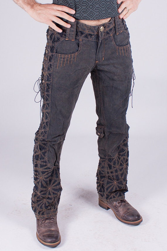 The gallery for --> Steampunk Mens Pants