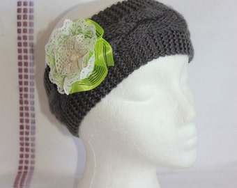 Knitted Headband - Knitted Ear Warmer - Knitted Twisted Headband - Knit Turban Headband - Knit Ear Warmer - Knit Headband