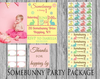 Somebunny birthday party package