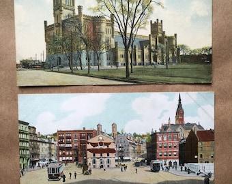 Providence, RI Vintage Postcards