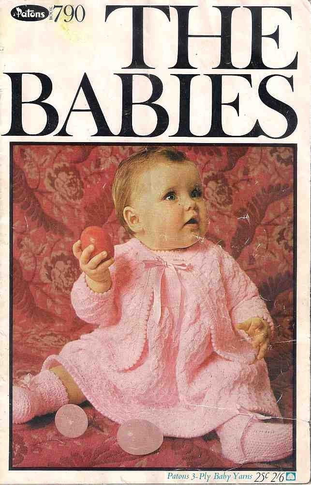 Knitting For Babies Books : The babies knitting book patons patterns for ply baby