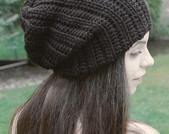 Crochet Ribbed Beanie