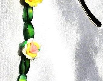 Flower Garden Mini Bookmark